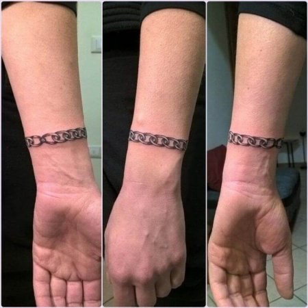 Chain Armband Tattoos
