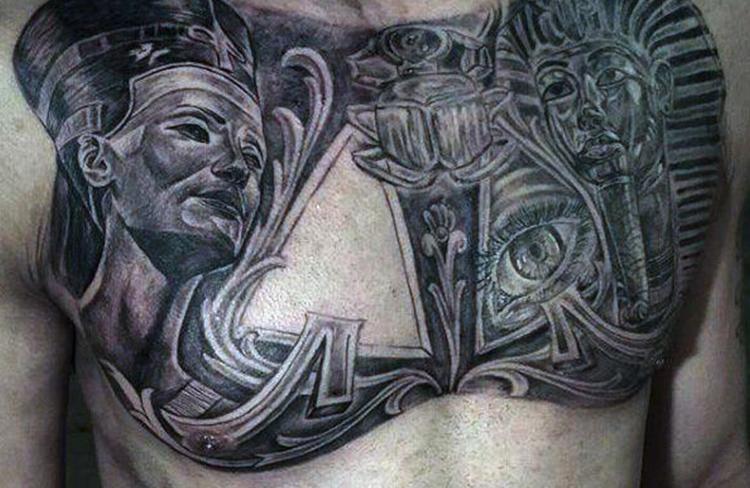 Egyptian Pantheon Tattoo