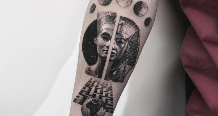 Egyptian tattoo2