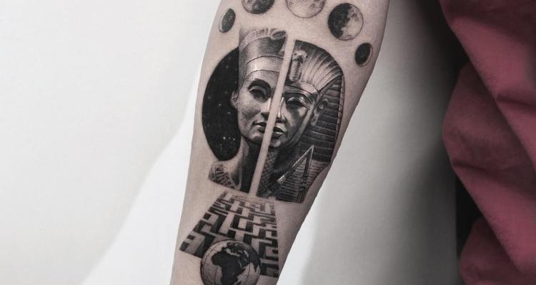 Egyptian tattoo2
