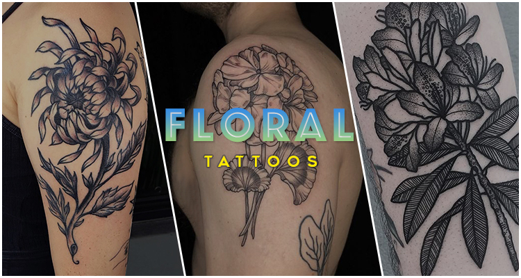 60 Delicate Floral Tattoo Designs
