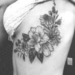 Gladioli Floral Tattoo
