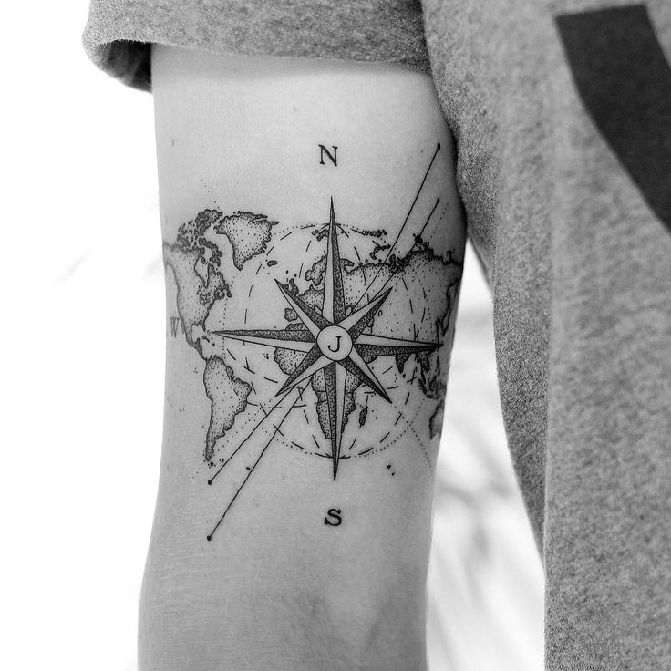 Travel Forearm tattoos ideas