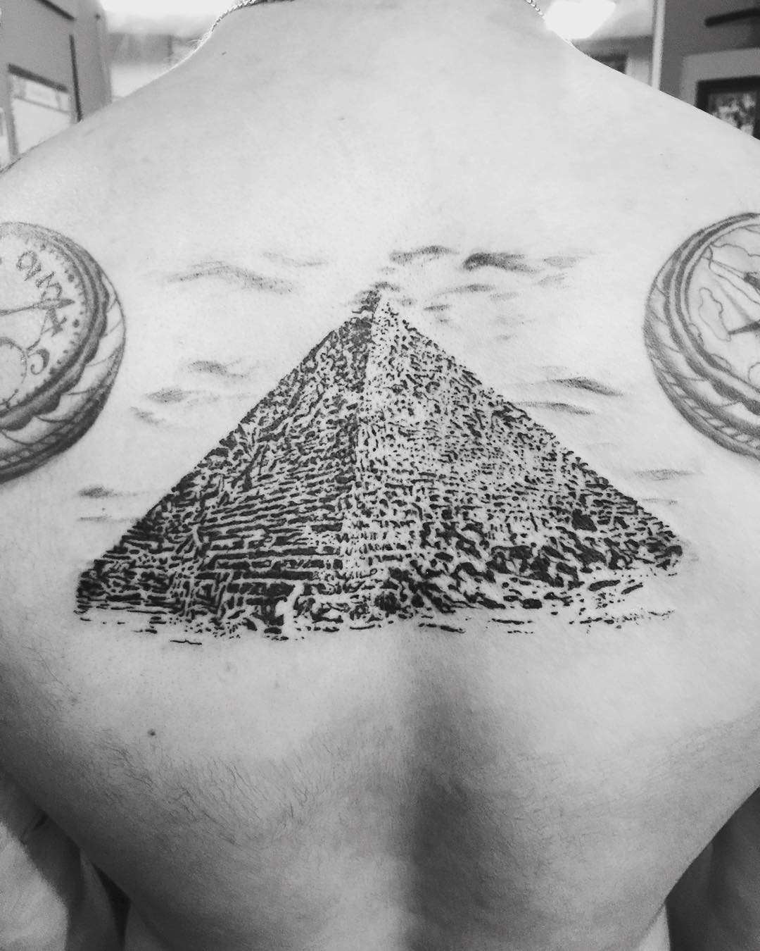 Great Pyramids tattoo