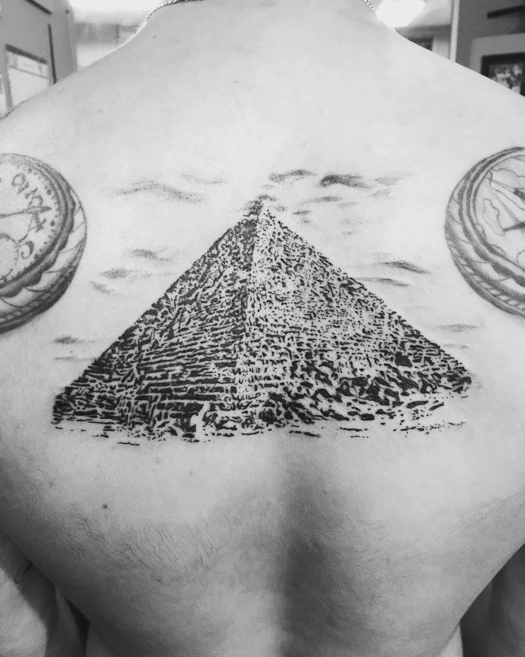 Great Pyramids tattoo
