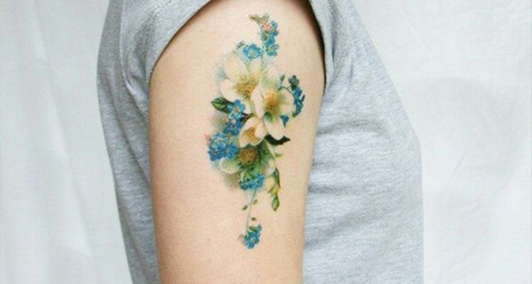 Floral Tattoo ideas for girls
