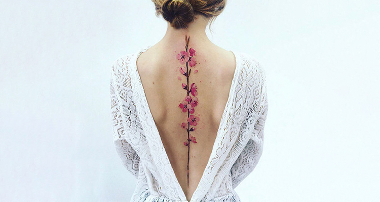 Spine tattoo pain