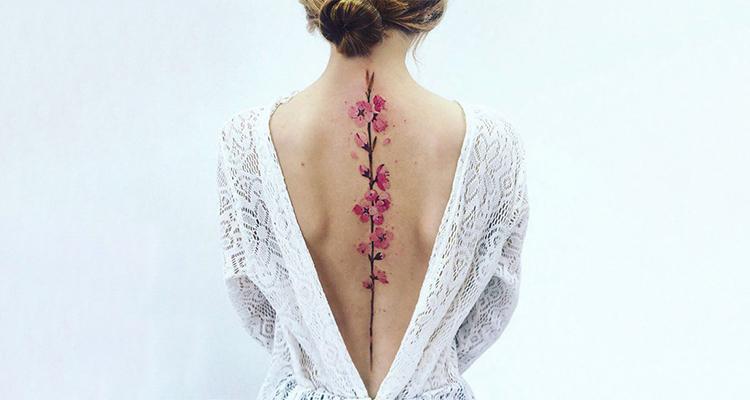 Spine tattoo pain