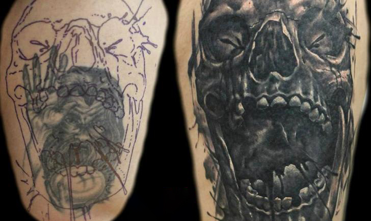 Quality of your Cover-up Tattoo Ink