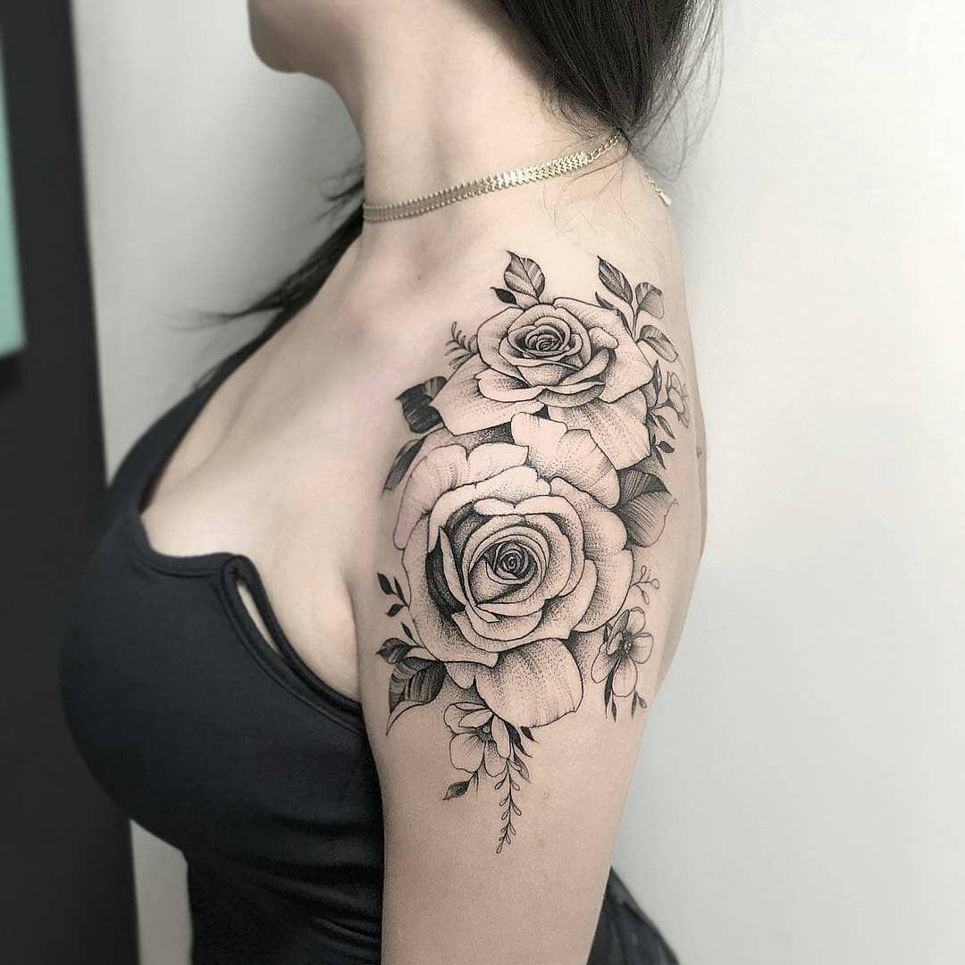 Flower Tattoo Designs for Girls