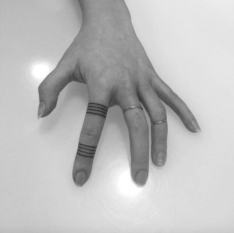 Small Band Tattoo
