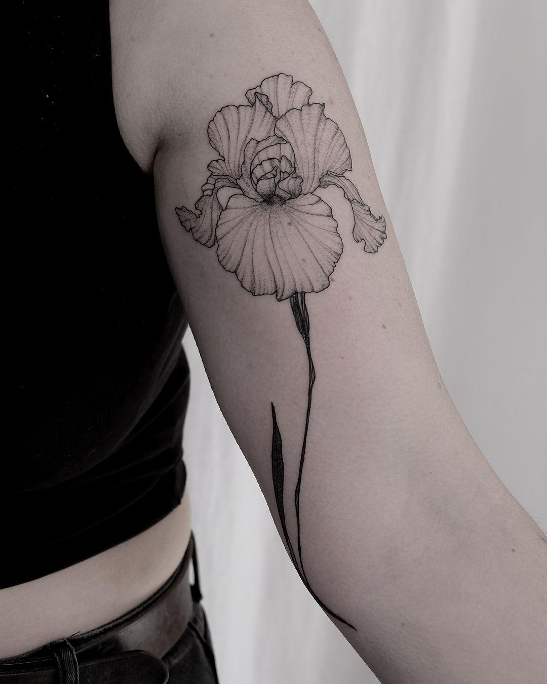 Forearm flower tattoo designs 2020