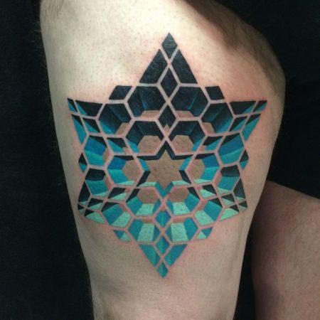 3D Star Tattoos image