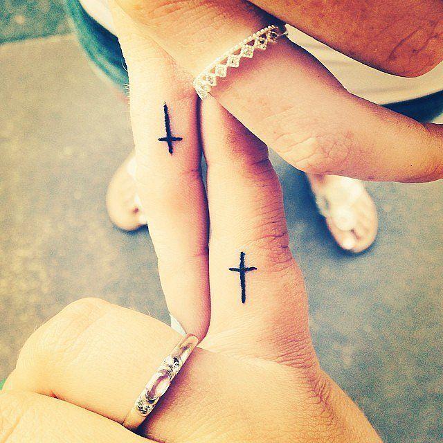 Cross Matching Tattoos