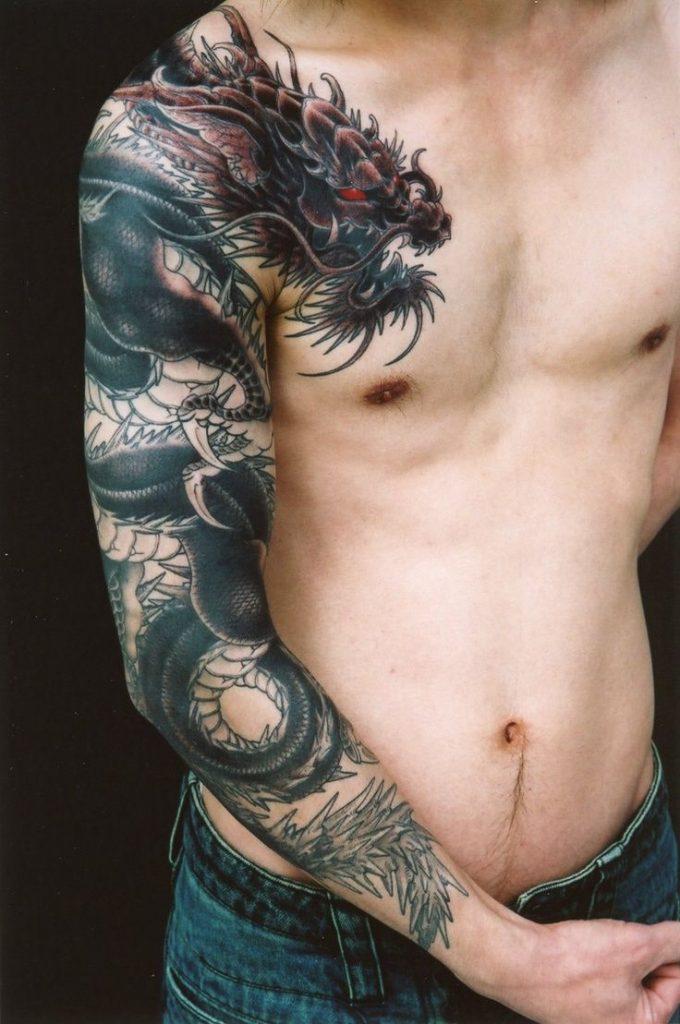 Dragon Sleeve Tattoo Designs