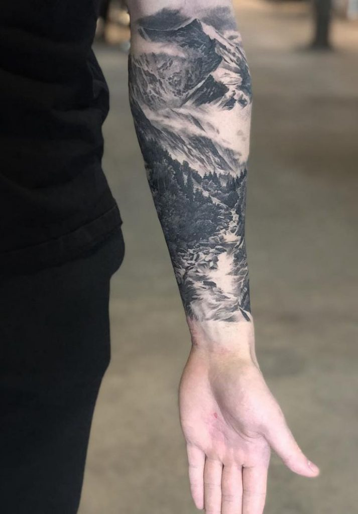 45 Interesting Half Full Sleeve Tattoos Designs Trending Tattoo