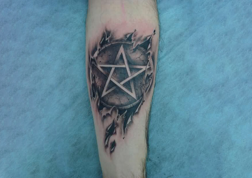 Best Pentagram tattoo ink