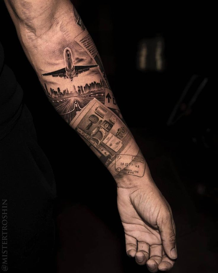 45 Interesting Half Full Sleeve Tattoo Designs For Men Women