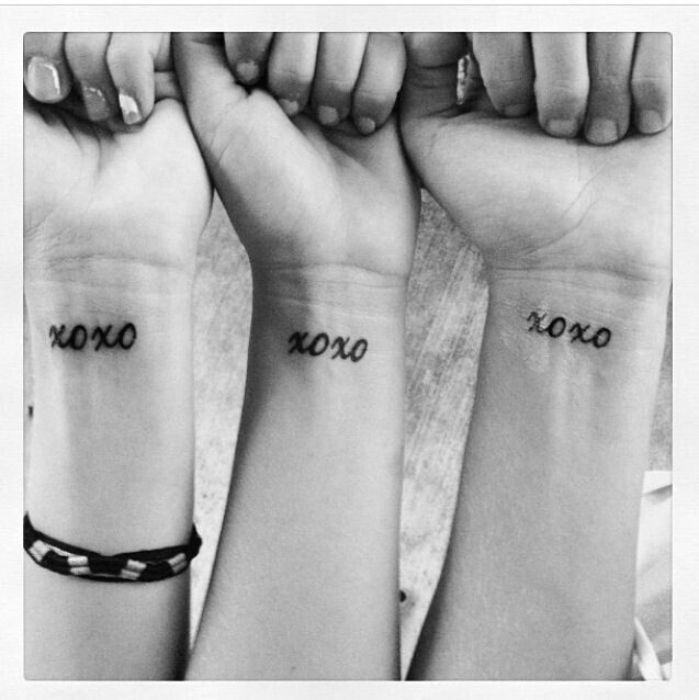 Matching Tattoos for friends