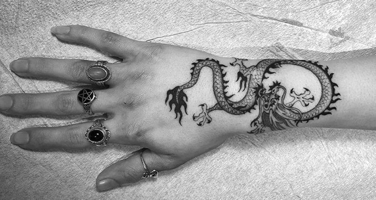 dragon on your tattoo