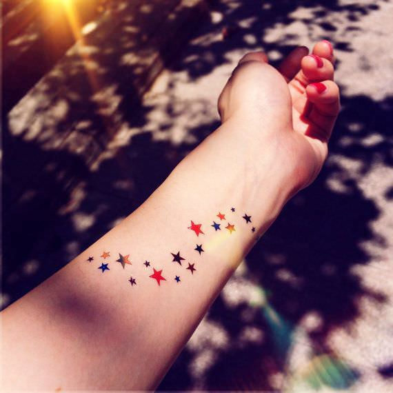star tattoo image