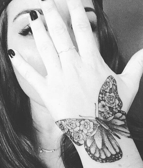 Butterfly Hand Tattoo Ideas 2020