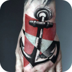 Abstract Tattoo icon