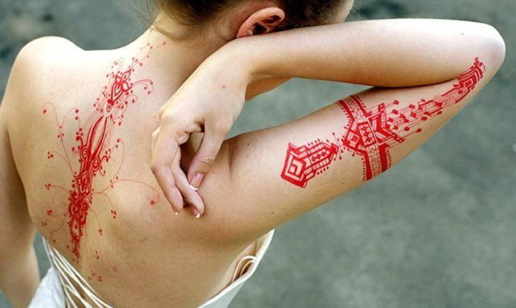Allergic Reaction tattoo