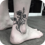 Ankle Tattoo Icon