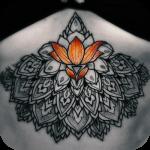 Flower tattoo icon