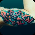 Graffiti Tattoo icon