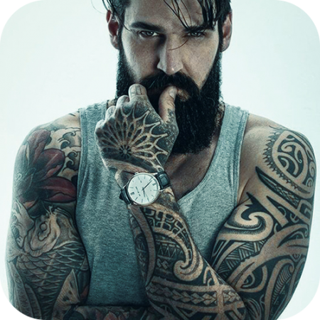 Men Tattoo image