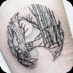 Line Tattoo icon