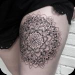 Thigh Tattoo icon