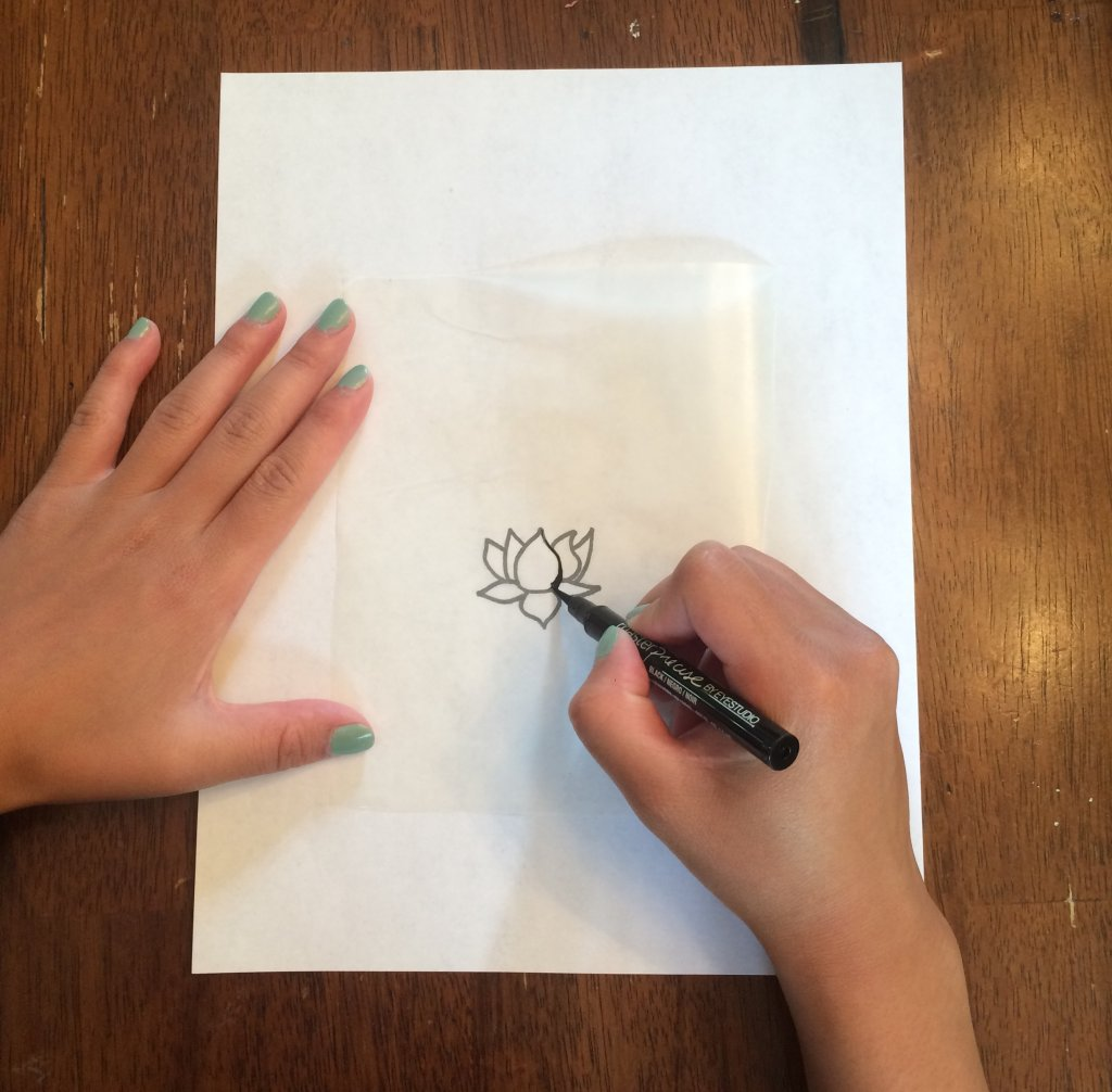 Tracing Paper for how to make fake tattoos