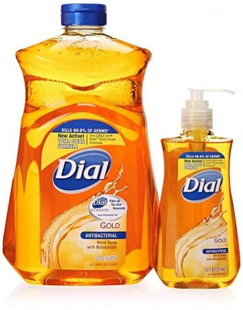 Dial Gold Antibacterial Liquid Soap with Moisturizer