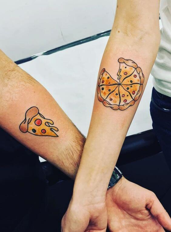 Pizza Tattoo Ideas