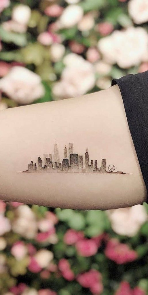 Skyline Tattoo Designs