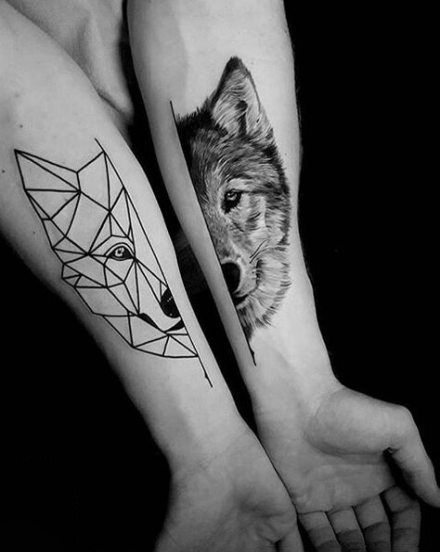 Wolf tattoo ideas in 2020