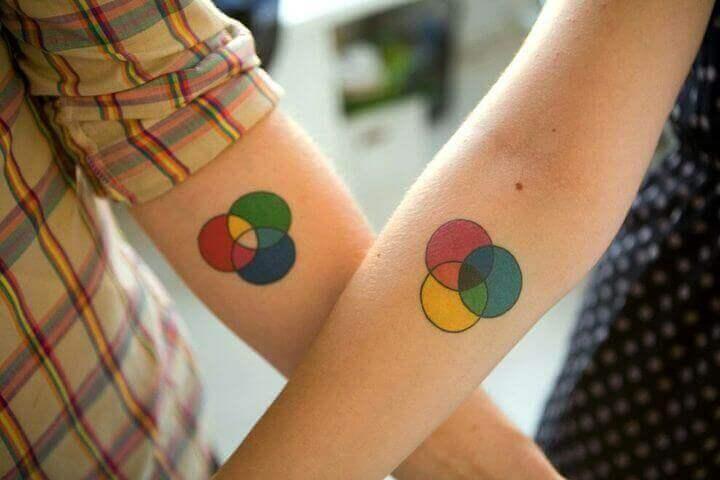 Color Circle Tattoo ideas
