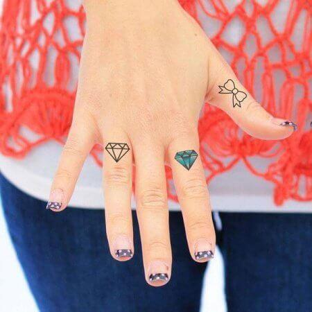 Diamond ink image