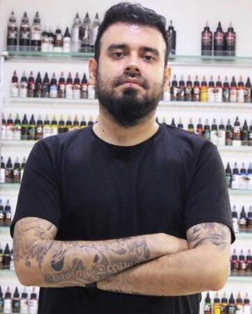 LOKESH VERMA Indian Tattoo Artist