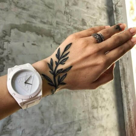 Leaf Tattoo 2020