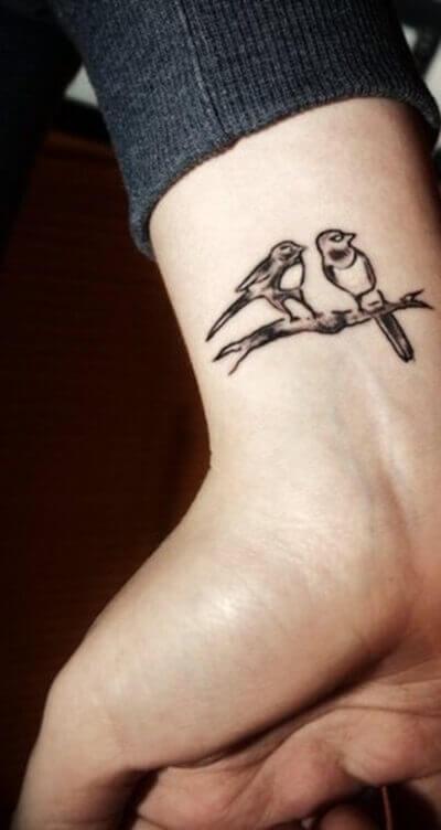 Love Birds Tattoos 2020