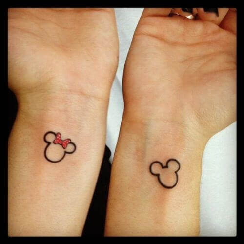 Mickie & Minnie Mouse