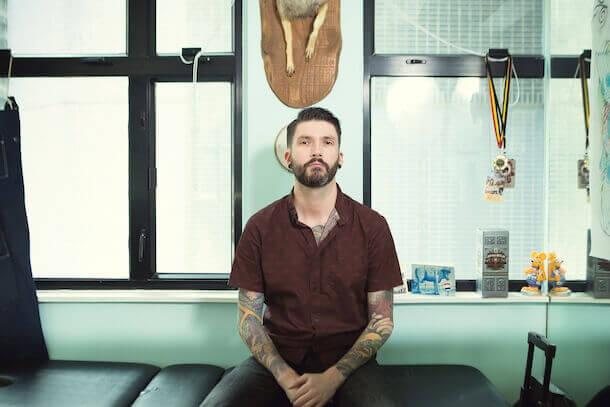 ROB KELLY Tattoo artist