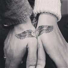 Split Heart Couple Tatto