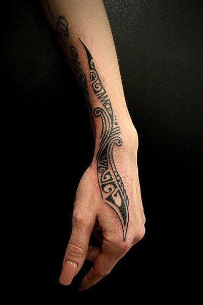 Tribal ink Design