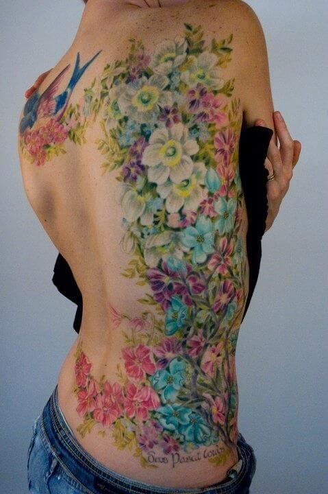 colorful tatoo