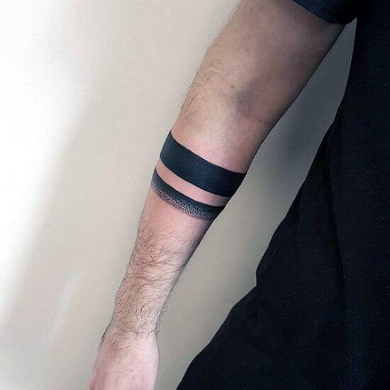 Armband tattoo for boys